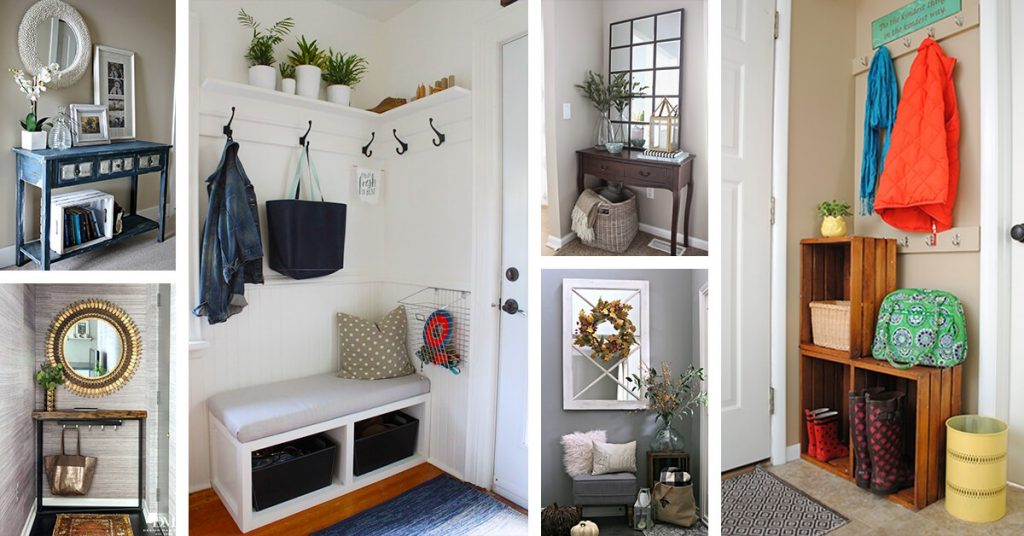 Entryway decorating ideas that are welcoming