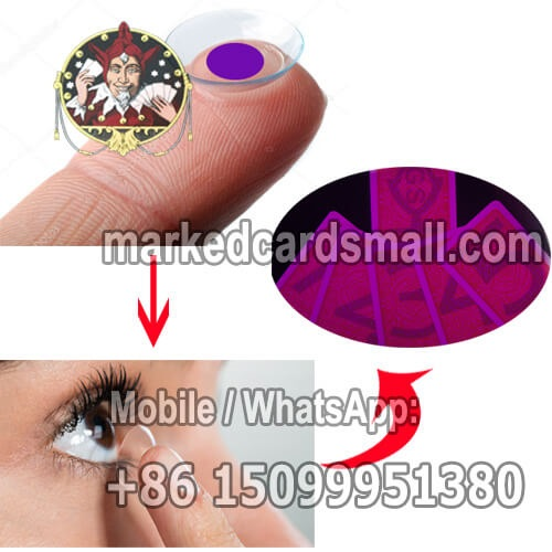 marked cards contact lenses