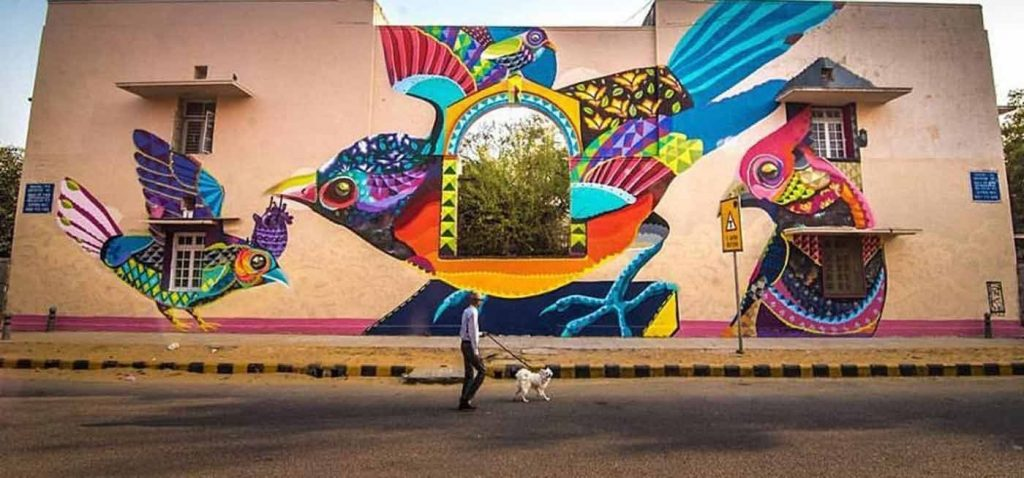 Brighten Your Day Through Street Art On Your Walls