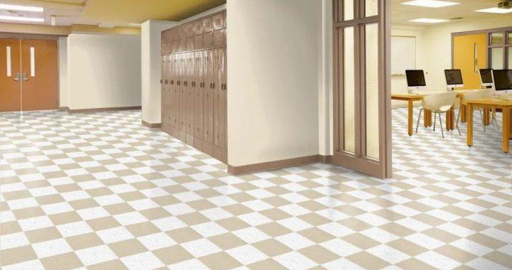 School and nurseries vinyl flooring