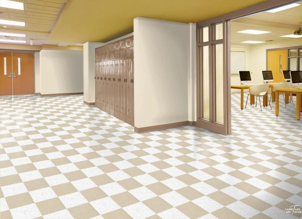 School and nurseries vinyl flooring
