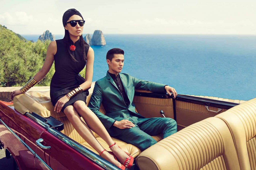 The luxury market in China is booming online