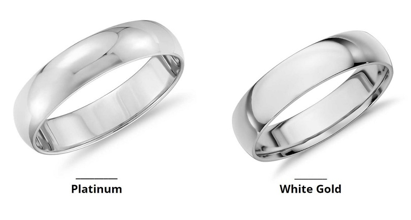 Know About White Gold And Platinum